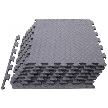 Piso Gimnasio Diamantado Foamy Modular